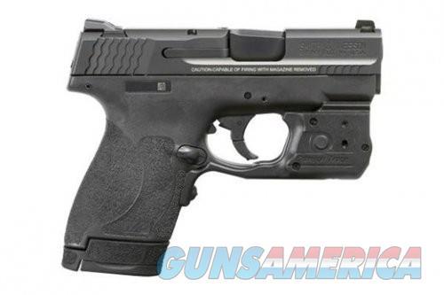 Smith and Wesson M&P9 Shield M2.0 Black 9mm 3.1-Inch 6rd Crimson Trace Laserguard Pro  Guns > Pistols > Smith & Wesson Pistols - Autos > Shield