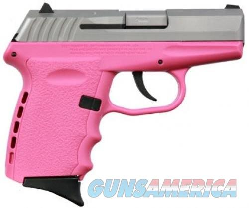 SCCY CPX-2 Pink / Stainless 9mm 3.1-inch 10rd  Guns > Pistols > SCCY Pistols > CPX1