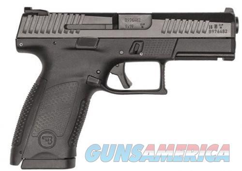 CZ-USA P-10 Compact Black 9mm 4-inch 15rd  Guns > Pistols > L Misc Pistols