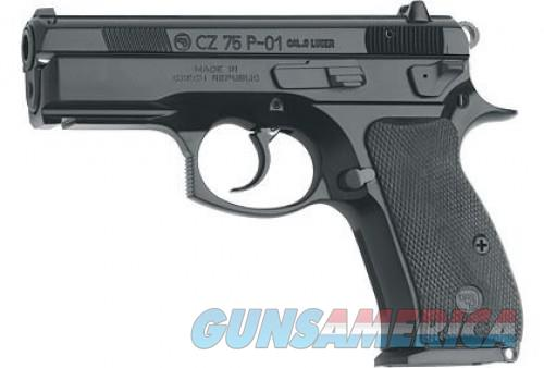 CZ 75 P-01 Black 9mm 3.8-inch 10Rds  Guns > Pistols > L Misc Pistols