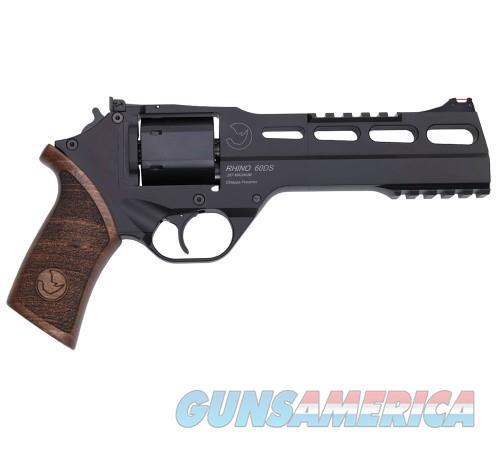 Chiappa Rhino 60DS Black .357Mag 6-inch 6rd  Guns > Pistols > Chiappa Pistols & Revolvers > Rhino Models
