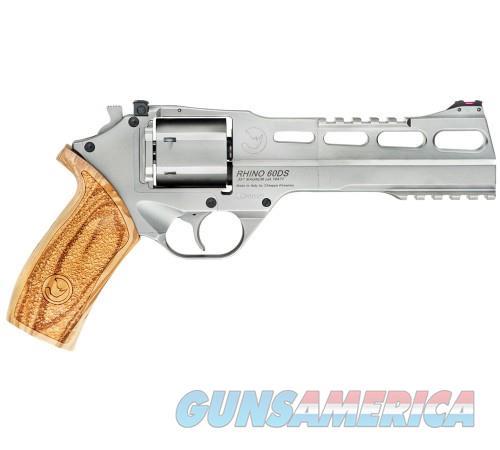 Chiappa Rhino 60DS Chrome .357Mag 6-inch 6rd  Guns > Pistols > Chiappa Pistols & Revolvers > Rhino Models