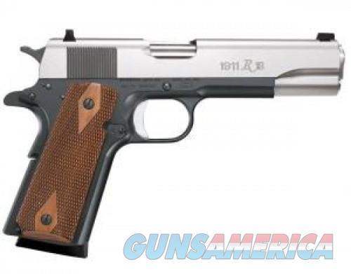 "Remington 1911 R1 .45 ACP 7rd 5"" Pistol Satin Black Oxide/Stainless 96243 96243  Guns > Pistols > L Misc Pistols"