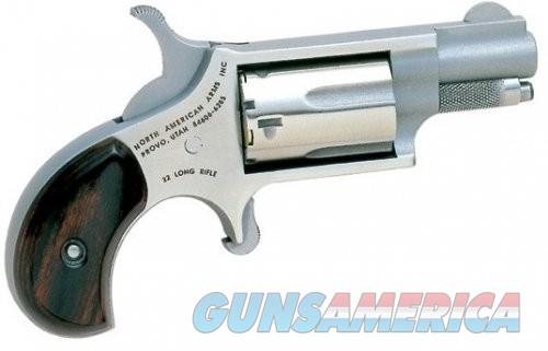 North American Arms Mini Revolver .22LR 1.125-inch Fixed Sights 5rd  Guns > Pistols > L Misc Pistols