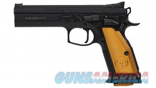 CZ 75 TS 40SW ORANGE 17RD  Guns > Pistols > CZ Pistols