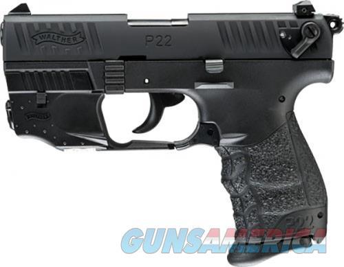 Walther P22Q 22 LR LASER BLACK 10RD  Guns > Pistols > L Misc Pistols