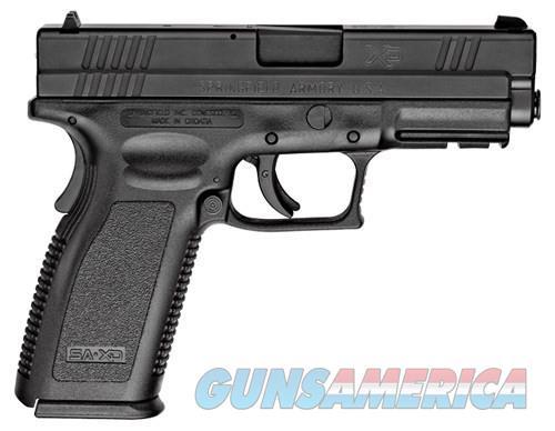 Springfield XD Service Essentials Black 40SW 4-inch 10rd  Guns > Pistols > L Misc Pistols