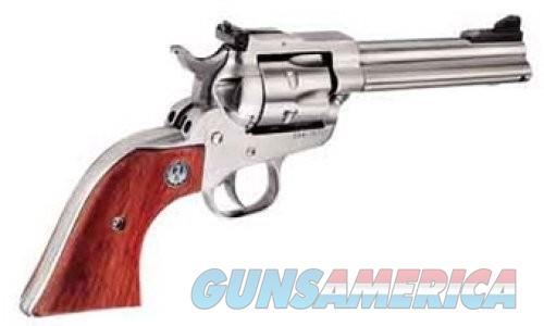 Ruger Single Six Convertible Stainless / Wood .22 LR / .22 Mag 4.625-inch 6Rds  Guns > Pistols > L Misc Pistols