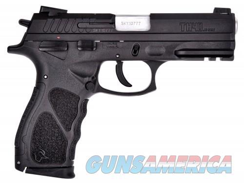 "Taurus TH40 .40 S&W Semi Auto Pistol 4.25"" Barrel 15 Rounds Manual Safety Polymer Frame Matte Black Finish  Guns > Pistols > L Misc Pistols"