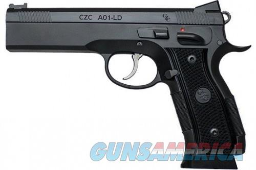 CZ A01-LD Custom 9MM 19Rds 4.925-inches  Guns > Pistols > L Misc Pistols