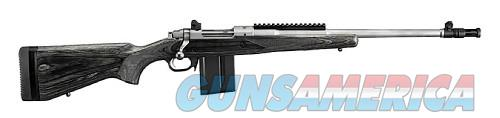 Ruger Gunsite Scout Stainless / Black .308 Win 18-inch 10Rd  Guns > Rifles > Ruger Rifles > Model 77