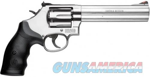 Smith and Wesson 686 Stainless .357 Mag 6-inch 6Rd  Guns > Pistols > Smith & Wesson Revolvers > Full Frame Revolver
