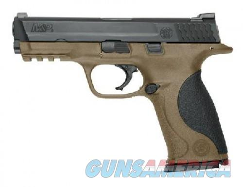 Smith & Wesson M&P9 9MM 4.25 FDE POLY BLK SS 17RD  Guns > Pistols > Smith & Wesson Pistols - Autos > Polymer Frame