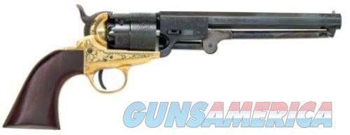 Traditions FR185118 1851 Navy Black Powder Revolver .44  Guns > Pistols > L Misc Pistols