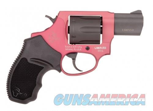 Taurus 856 Ultra Lite Pink / Black .38 SPL 2-inch 6Rds  Guns > Pistols > L Misc Pistols
