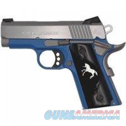 Clt Defender 45acp 3 Blue Frame Ss 1/100 O7000XERWB  Guns > Pistols > L Misc Pistols