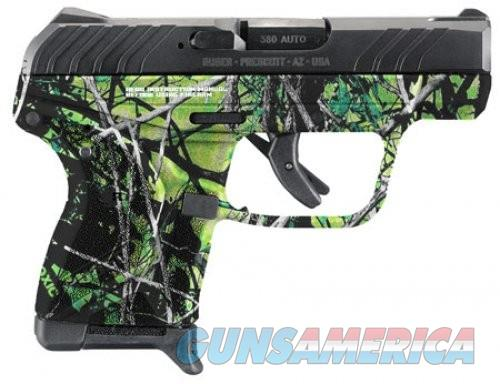Ruger LCP II Moon Shine Toxic Camo Blued .380ACP 2.75-inch 6rd  Guns > Pistols > L Misc Pistols