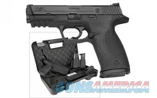 "SMITH&WESSON M&P 4.25"" 17RD 9MM BLK GRN LSRGRD  Guns > Pistols > S Misc Pistols"