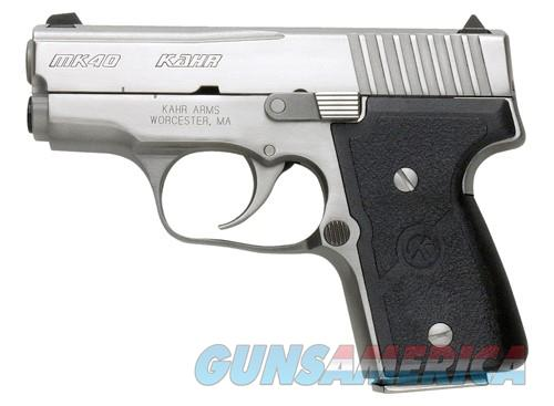 KAHR MK40 ELITE 40SW 3 SS CA LEGAL USED  Guns > Pistols > L Misc Pistols