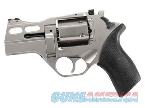 Chiappa Firearms Rhino 30DS Nickel .357 Mag 3-inch 6Rds  Guns > Pistols > L Misc Pistols