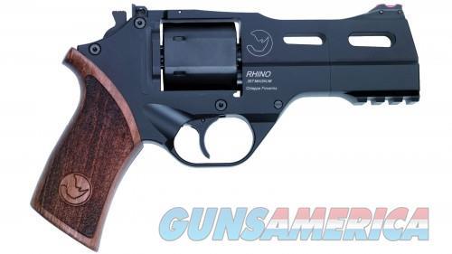 Chiappa Rhino 40 SAR Black 9mm 4-inch 6rd  Guns > Pistols > Chiappa Pistols & Revolvers > Rhino Models