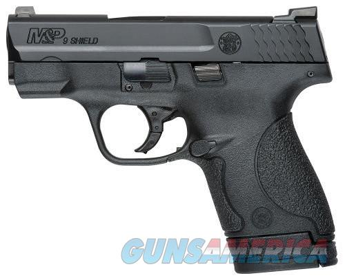 SMITH&WESSON M&P SHIELD 9MM 3.1 BLK POLY NS 7&8RD  Guns > Pistols > Smith & Wesson Pistols - Autos > Shield
