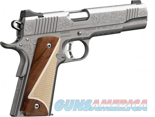 "Kimber Stainless II (Classic Engraved Edition) .45 ACP Stainless  1911 7rd 5""  Guns > Pistols > L Misc Pistols"