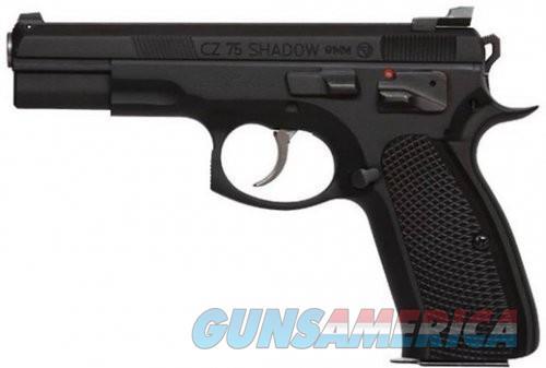 CZ 75 Shadow Tac II (CZ Custom) Black 9mm 4.61-inch 16Rds  Guns > Pistols > CZ Pistols