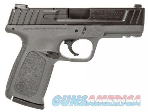 Smith and Wesson SD40 Matte Black .40SW 4-inch 14rd  Guns > Pistols > L Misc Pistols