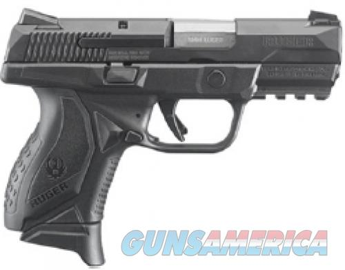 "RUGER 8637 AMERICAN 9MM COMPACT 3.55"" NO MAN SFTY 10RD BLACK  Guns > Pistols > L Misc Pistols"
