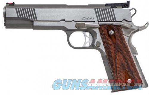 Dan Wesson Pointman 45 Stainless .45 ACP 5-inch 8Rds  Guns > Pistols > CZ Pistols