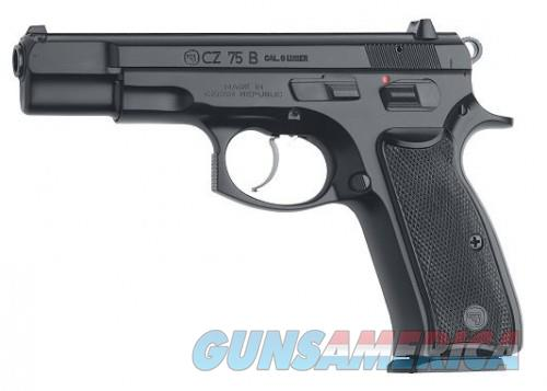 CZ 75B Black 9mm 4.7-inch 10Rds  Guns > Pistols > CZ Pistols