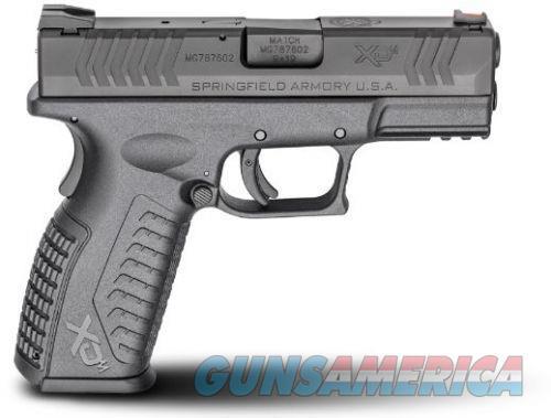 """Springfield XDM9389BHCE XD(M) Full Size Black DA 9mm 3.8"""" 19rd Black  Guns > Pistols > L Misc Pistols"""