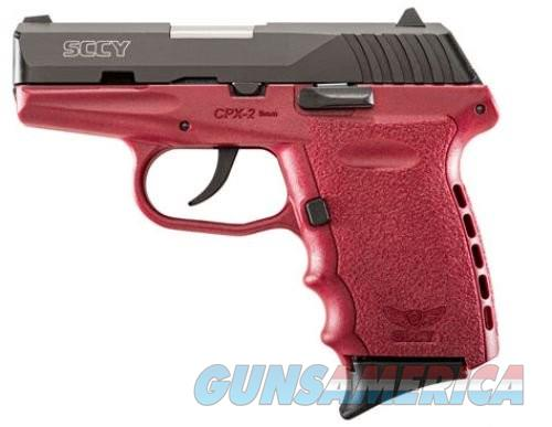 """SCCY CPX2 9MM 3.1"""" 10RD NO external safety  Guns > Pistols > SCCY Pistols > CPX2"""