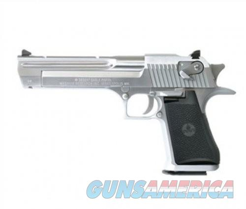 Magnum Research Desert Eagle MK19 44mag 6-inch Brush Chrome (CALI)  Guns > Pistols > L Misc Pistols