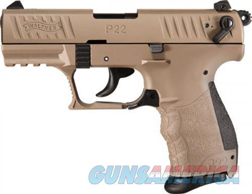 Walther P22Q 22 LR TACT FLAT DARK EARTH 10RD  Guns > Pistols > L Misc Pistols