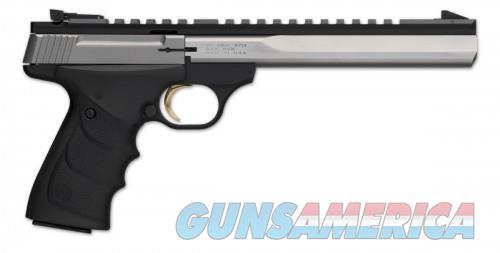 Browning Buck Mark Contour Stainless Ultragrip RX ambidextrous .22 LR 7.25-inch 10Rd  Guns > Pistols > Browning Pistols > Buckmark