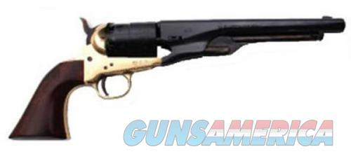 "Traditions 1860 Army Redi-Pak Black Powder Revolver / Walnut / Brass .44 Cal 8"" Blued Barrel  Guns > Pistols > L Misc Pistols"