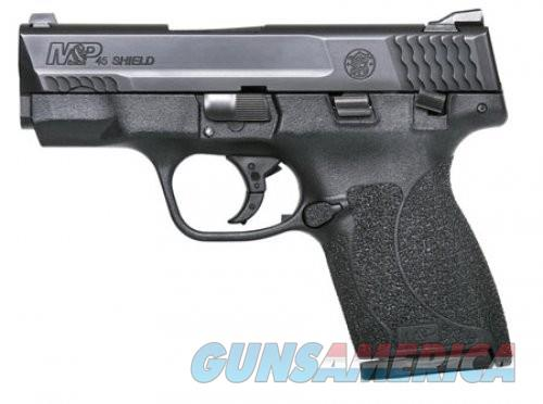 Smith and Wesson M&P45 Shield Black 45ACP 3.3 Inch 7Rd MA Compliant  Guns > Pistols > L Misc Pistols