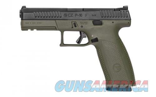 """CZ P-10F 9MM 4.5"""" OD/BLK NS 19RD  Guns > Pistols > L Misc Pistols"""