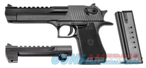 "Magnum Research  MK19 Black .50ae 6"" With 44mag Barrel  Guns > Pistols > Desert Eagle/IMI Pistols > Desert Eagle"