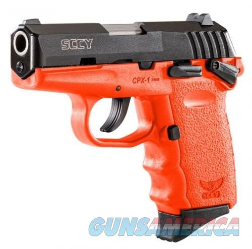 """SCCY CPX1 9MM 3.1"""" 10RD Ambidextrous Safety  Guns > Pistols > L Misc Pistols"""