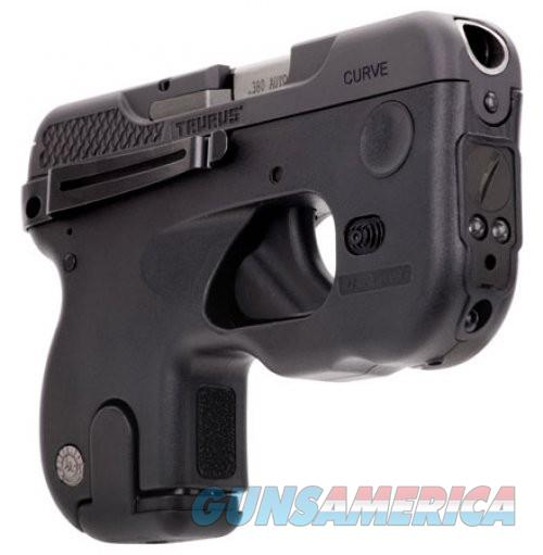 Taurus 180 Curve Black 380ACP 2.7-inch 6rd Laser/Light  Guns > Pistols > L Misc Pistols