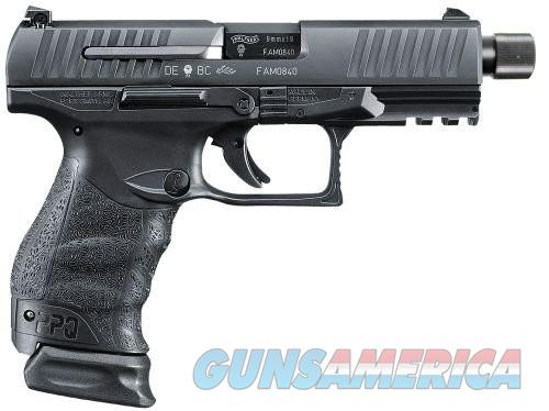 Walther PPQ M2 Navy Black 9mm 4.6-inch 15rd Threaded Barrel  Guns > Pistols > L Misc Pistols