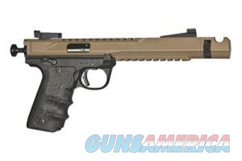 Volquartsen Custom Black Mamba FDE 22LR VF4M-0006  Guns > Pistols > L Misc Pistols