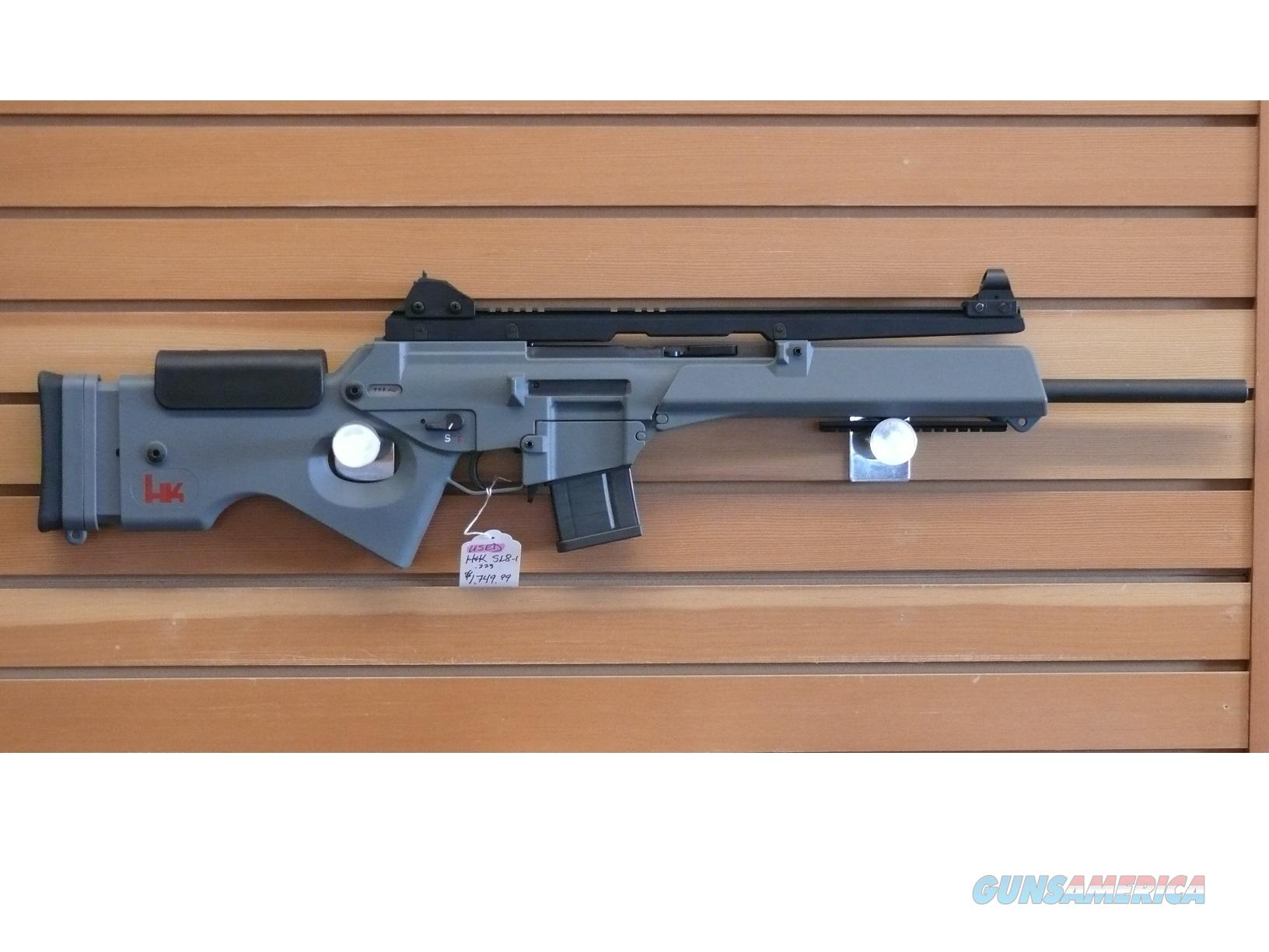 USED H&K SL8-1 .223 RIFLE  Guns > Rifles > Heckler & Koch Rifles > Tactical