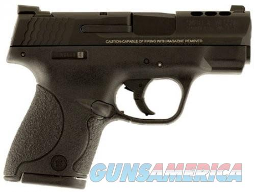 Smith and Wesson MP40 PC Shield Black .40 3.1-inch 7rd Ported barrel Night Sights  Guns > Pistols > L Misc Pistols