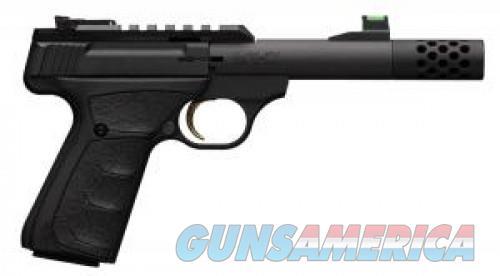 "Browning 051556490 Buck Mark Plus Micro Bull Suppressor Ready 22 LR 4.40"" 10+1 Matte Black Black Aluminum Slide Black Ultragrip FX Grip 051556490  Guns > Pistols > L Misc Pistols"