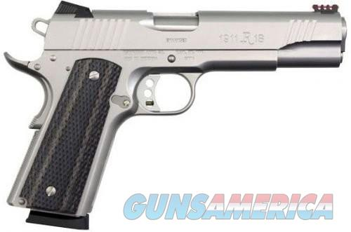 Remington 1911 R1 Enhanced Stainless .45 ACP 5-inch 8Rd  Guns > Pistols > Rock Island Armory Pistols > Rock Island