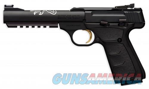 Browning Buck Mark Semiautomatic Rimfire Pistols - Stainless Steel (Full Size)  Guns > Pistols > Browning Pistols > Buckmark